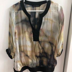 Zara bohemian blouse